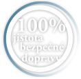 100% jistota  bezpen dopravy