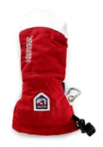 Juniorské palčáky ARMY LEATHER HELI SKI Jr MITT 30561 560 červenobílé